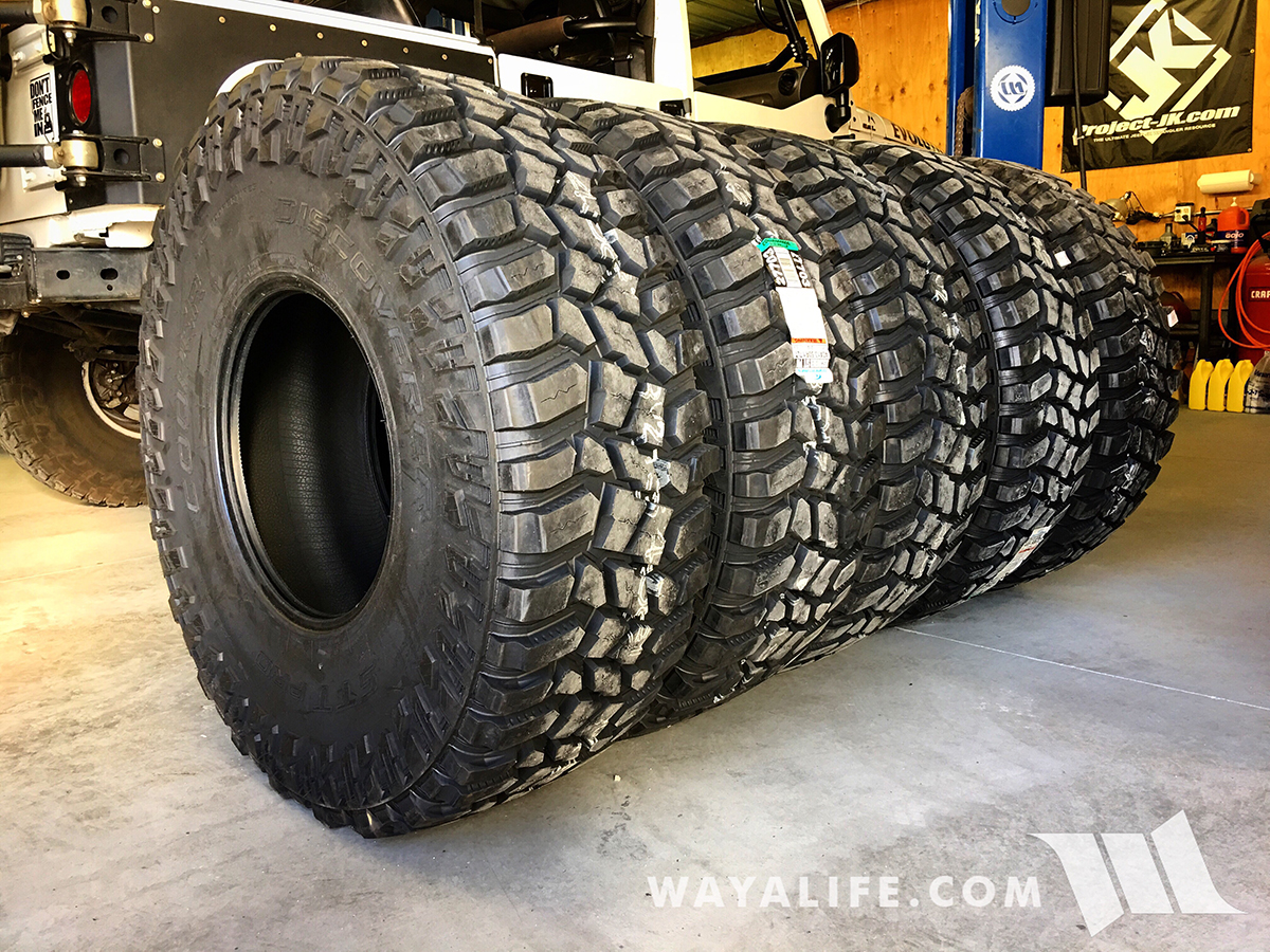 NEW Shoes for MOBY : 40×13 50R17 Cooper Discoverer STT Pro M