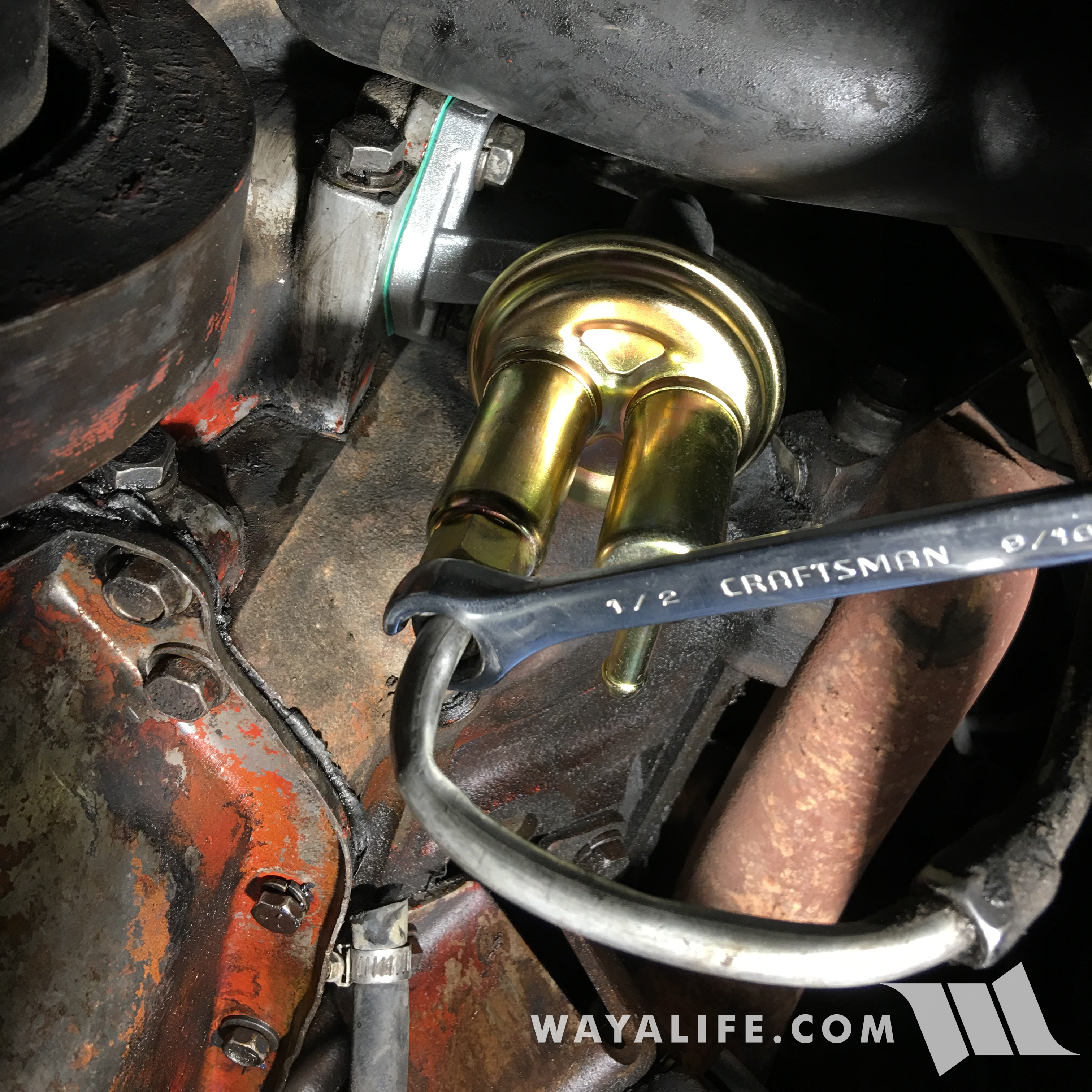 Jeep J2000 with 360 fuel pump