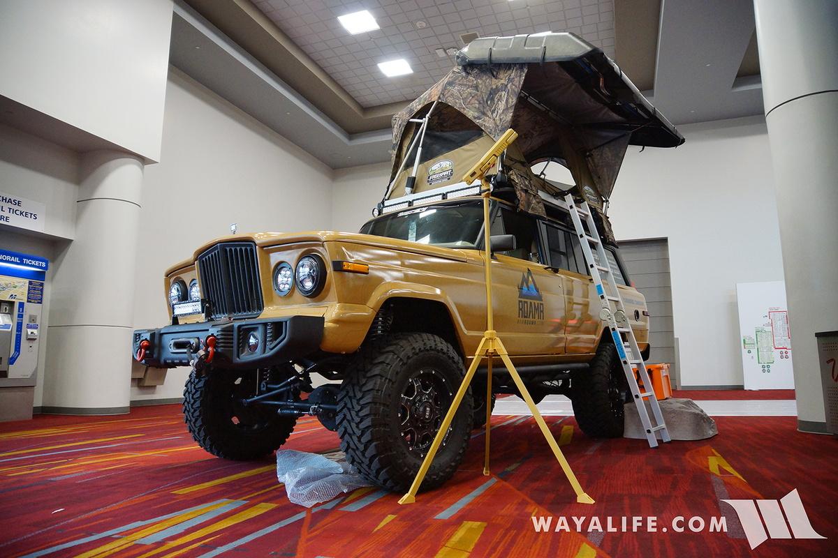 Jeep Wagoneer 2018 >> 2016 SEMA : ROAMR Jeep Wagoneer