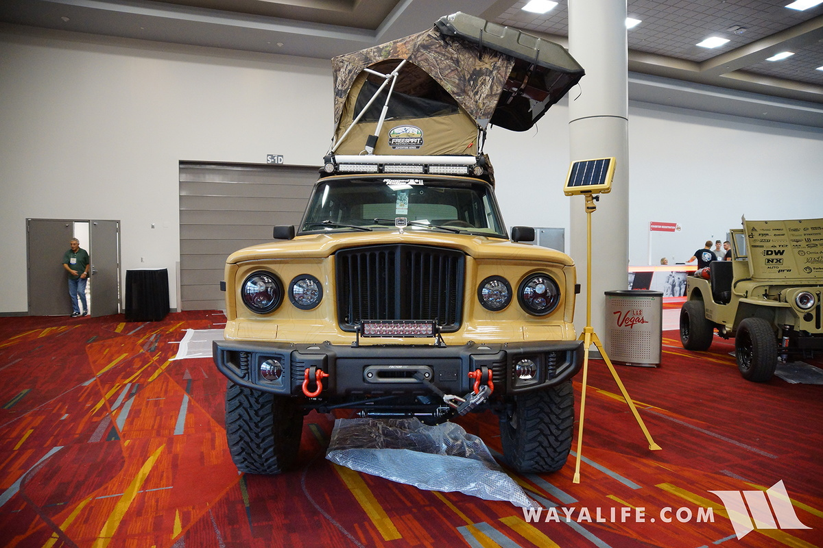 Build A Jeep >> 2016 SEMA : ROAMR Jeep Wagoneer