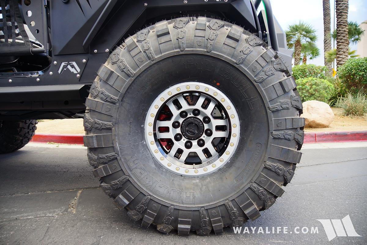 Jeep Wrangler Unlimited Grill >> 2016 SEMA : Vision Wheels Jeep JK Wrangler Unlimited