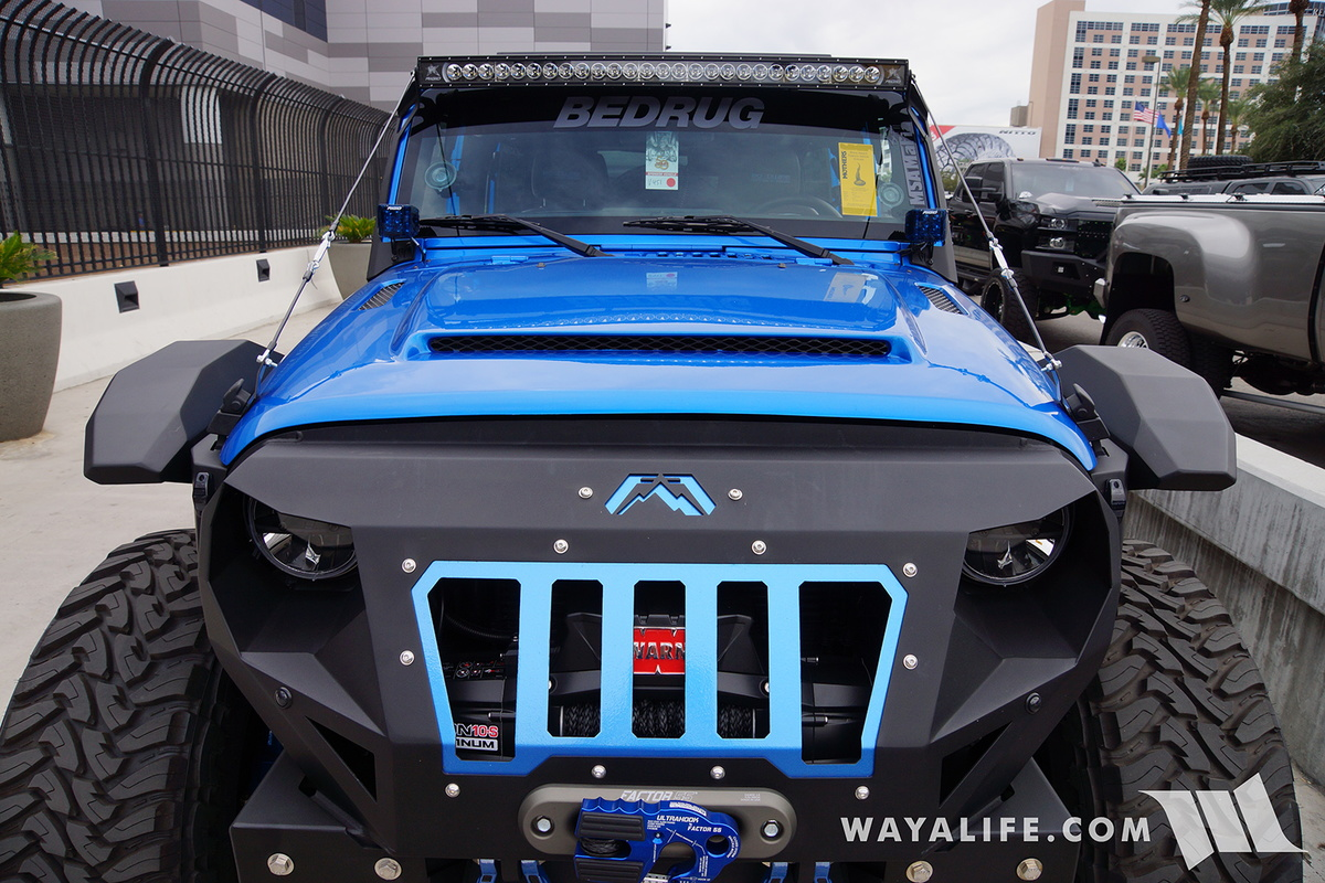 2015 Jeep Willys >> 2016 SEMA : Bedrug Jeep JK Wrangler Unlimited