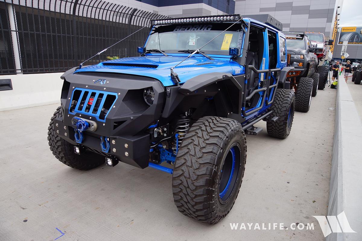 2016 Sema Bedrug Jeep Jk Wrangler Unlimited