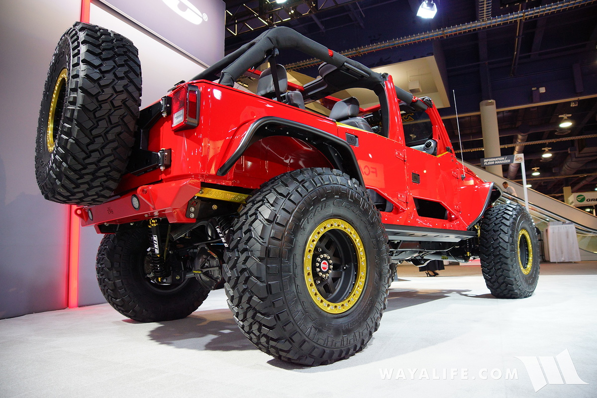 2016 Sema Nitto Tire Evo Spicy Chicken Jeep Jk Wrangler