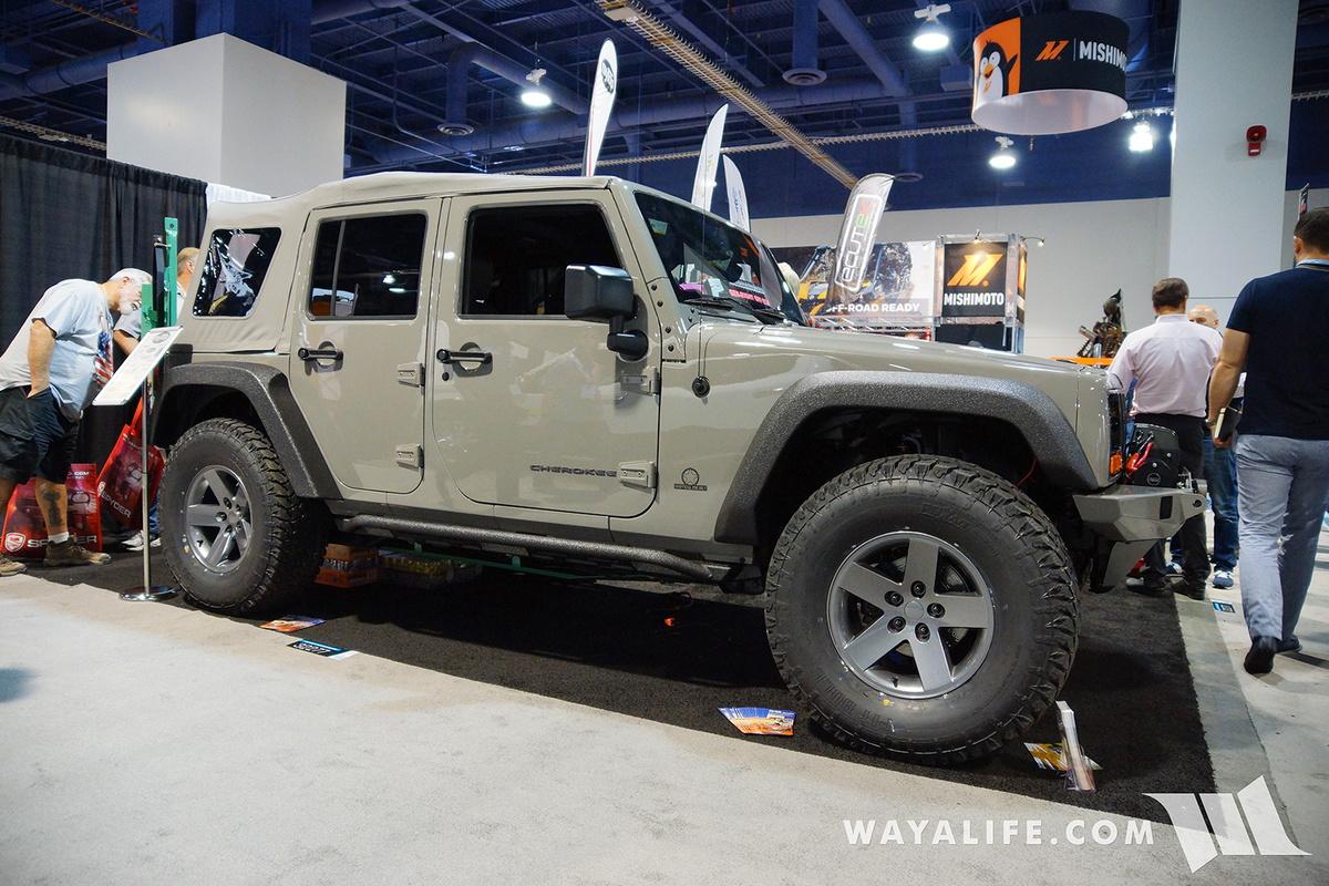 2016 Sema Mytop Xj Transformed Jeep Jk Wrangler Unlimited