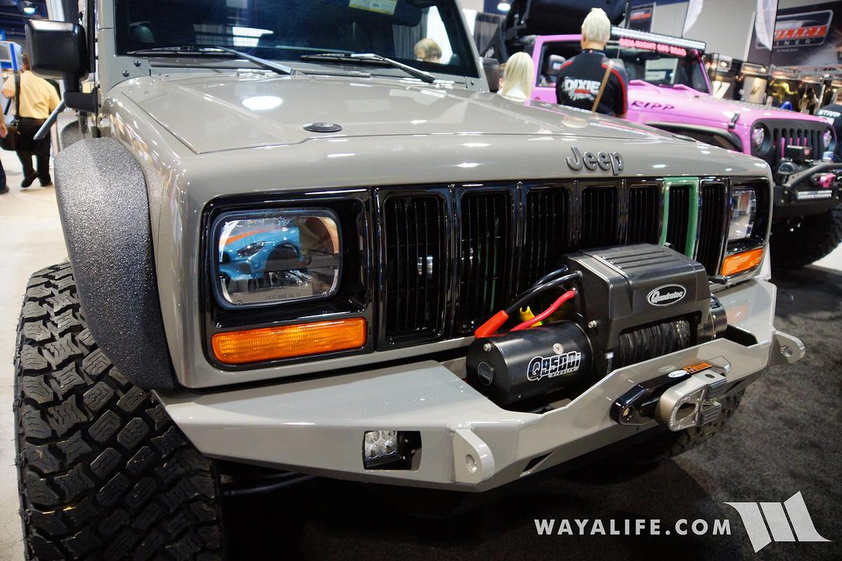 White Jeep Rubicon >> 2016 SEMA : MyTop XJ Transformed Jeep JK Wrangler Unlimited