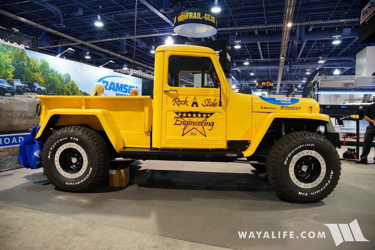 2016 SEMA : Ramsey Winch Willys Pickup Truck