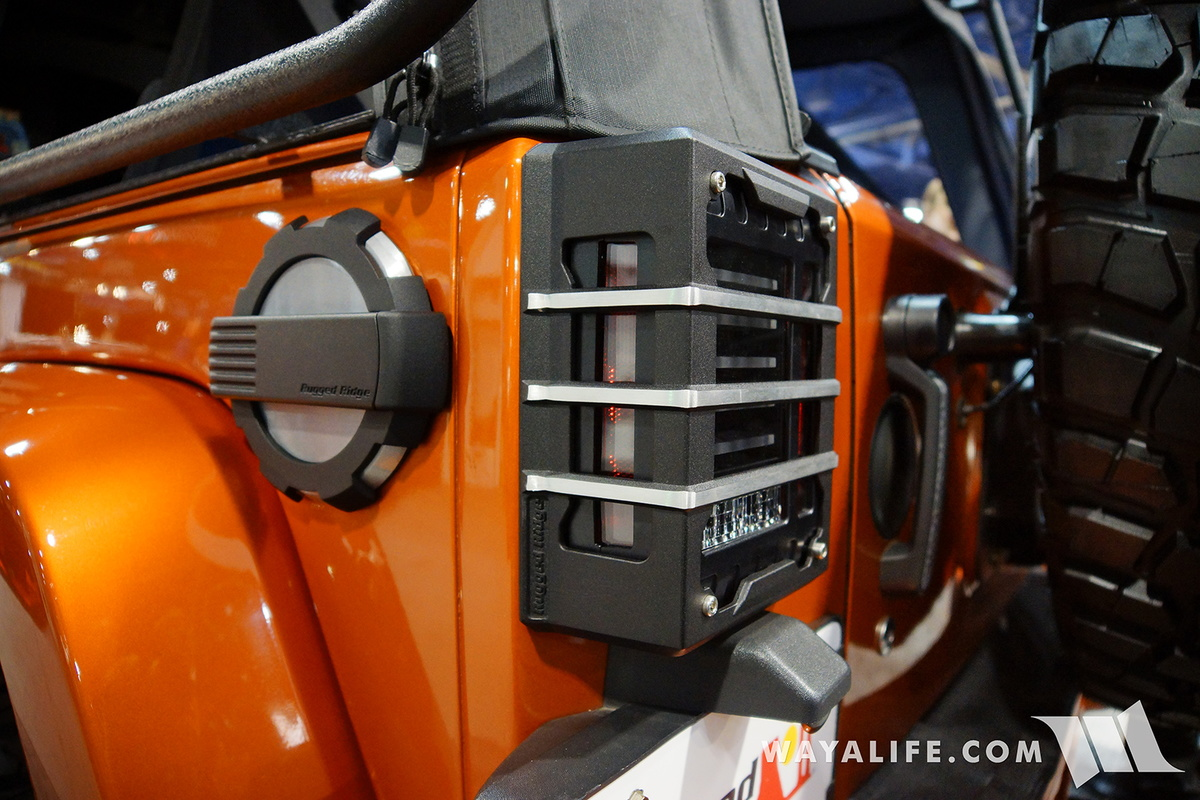 2016 Sema Rugged Ridge Orange Jeep Jk Wrangler Unlimited