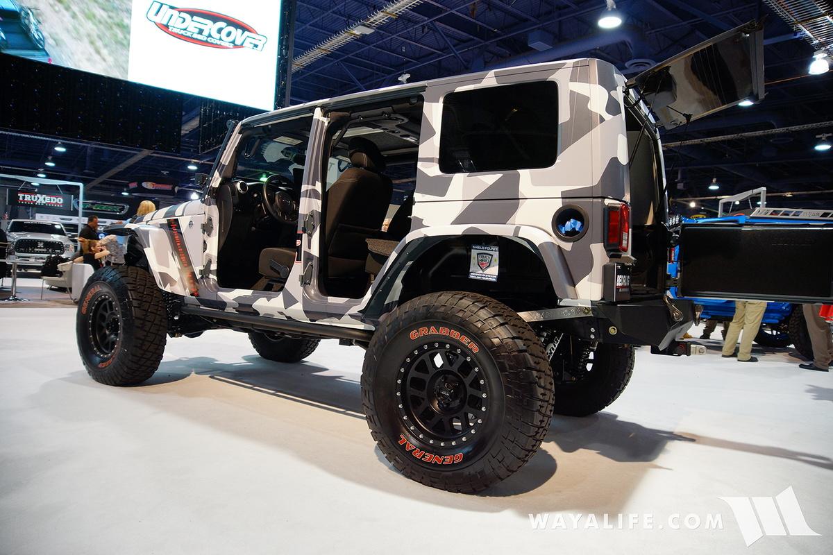 2016 Sema Truck Hero Camo Jeep Jk Wrangler Unlimited