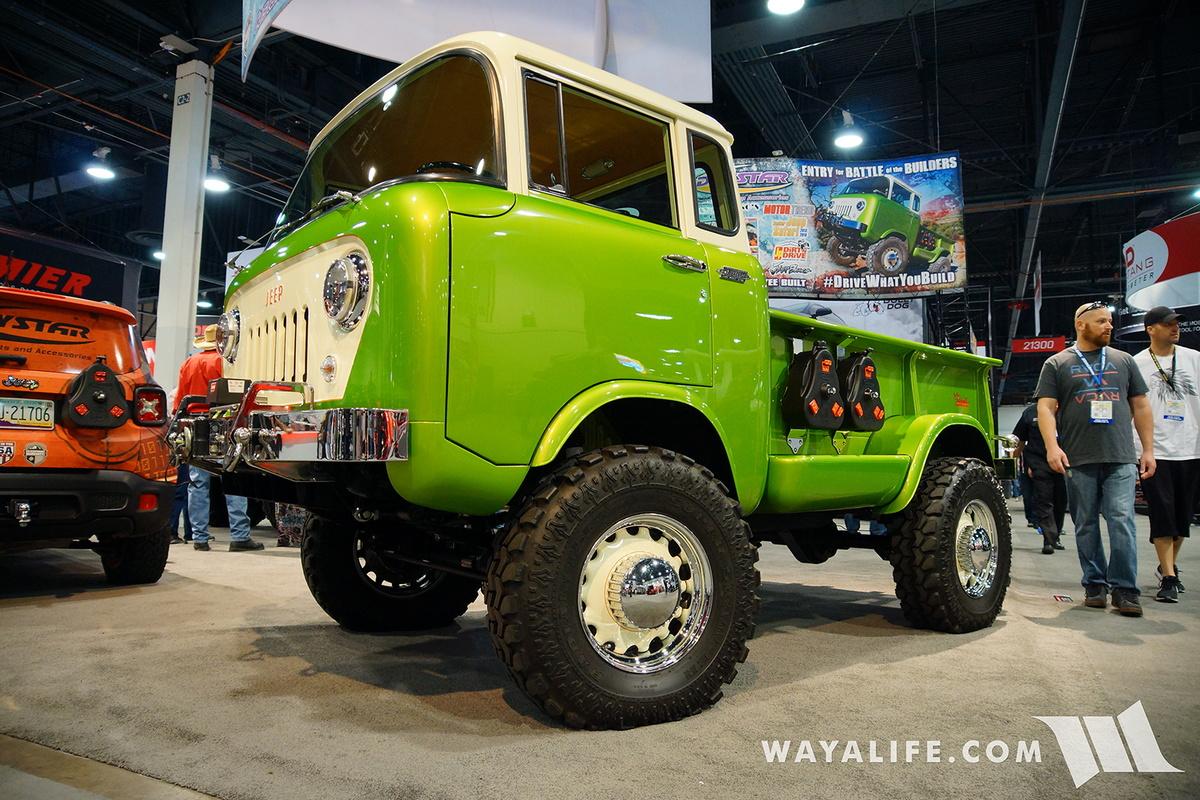 2016 Jeep Gladiator >> 2016 SEMA : Daystar Jeep FC