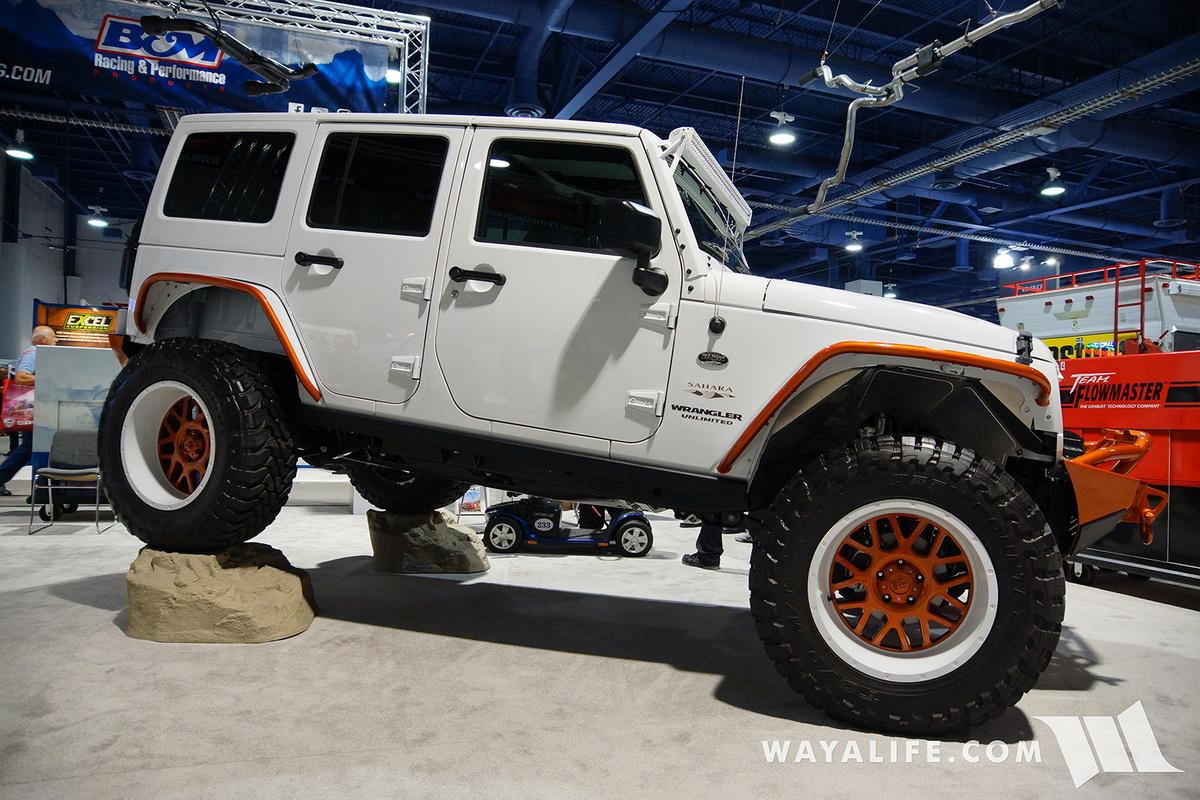 Jeep Wrangler Renegade >> 2016 SEMA : Flowmaster Jeep JK Wrangler