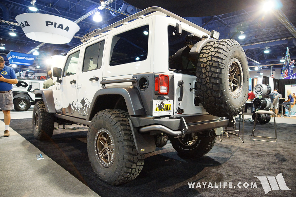2016 SEMA : AEV Jeep JK Wrangler Unlimited