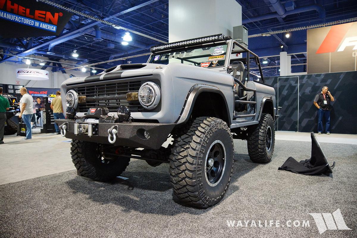 2016 SEMA  Zero to Go Ford Bronco