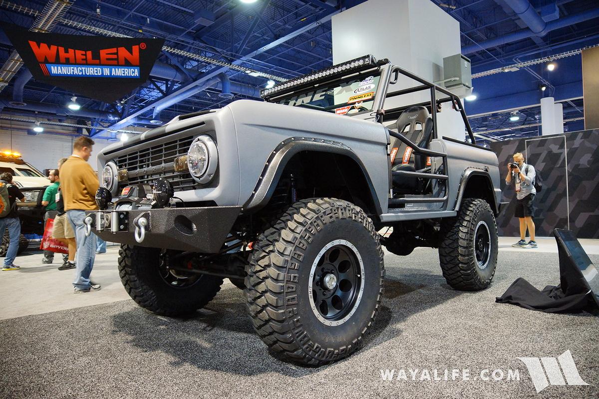 2016 Ford Bronco >> 2016 Sema Zero To Go Ford Bronco