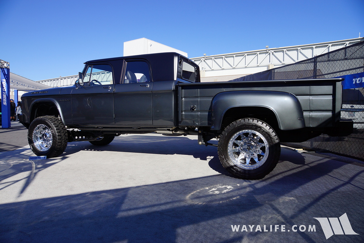 Dodge Pickup Trucks >> 2016 SEMA : Toyo Dodge Power Wagon Double Cab