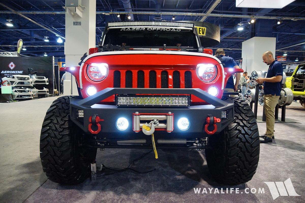 Jeep Wrangler Truck 2018 >> 2016 SEMA : Razor Off Road Jeep JK Wrangler