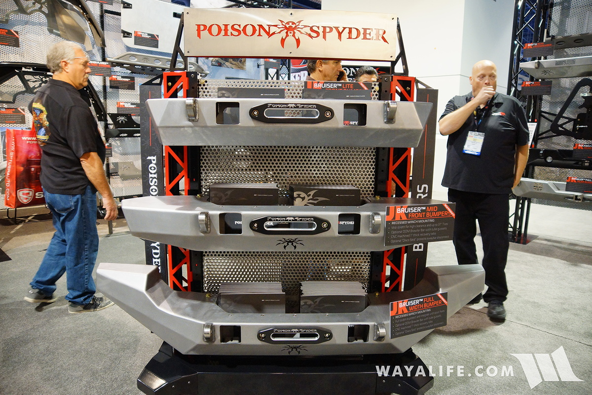 2016 Sema Poison Spyder Bruiser Bumpers