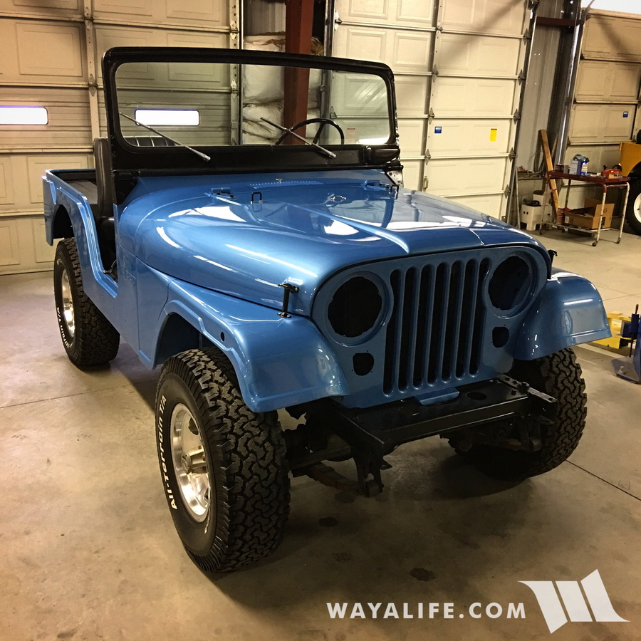 WAYALIFE Calamity Jane 1974 CJ5 Renegade