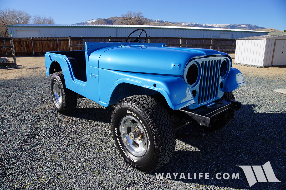 1974 Jeep CJ5 Renegade Jetset Blue Metallic