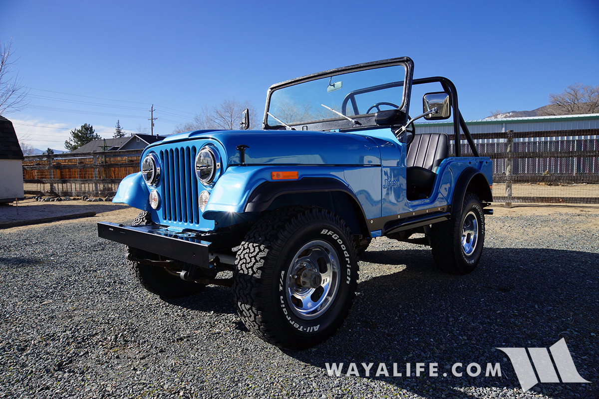 WAYALIFE Calamity Jane - 1974 Jeep CJ5 Renegade