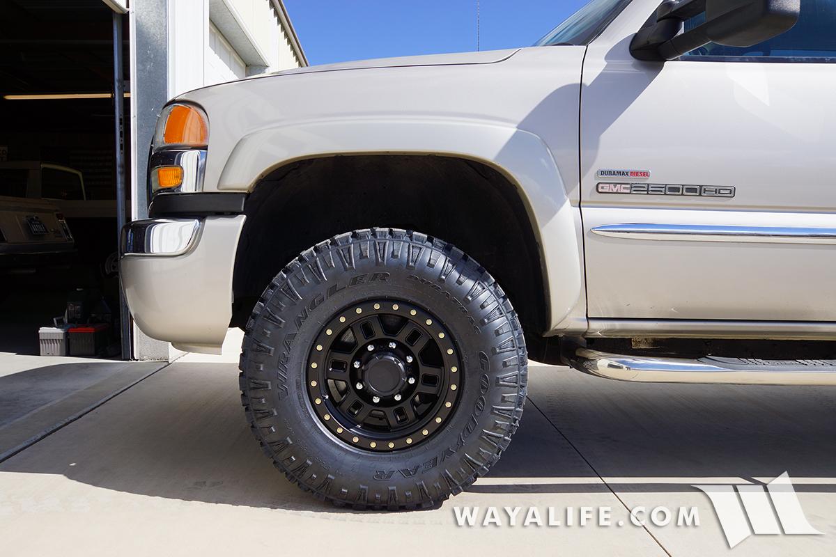 New Duratrac Tires / Vision 398 Manx Wheels & Rancho Level ...