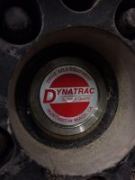 "Dynatrac HD 35 Spline/1.5"" Diameter1541H Alloy Rear Semi-Float Axle Shafts"
