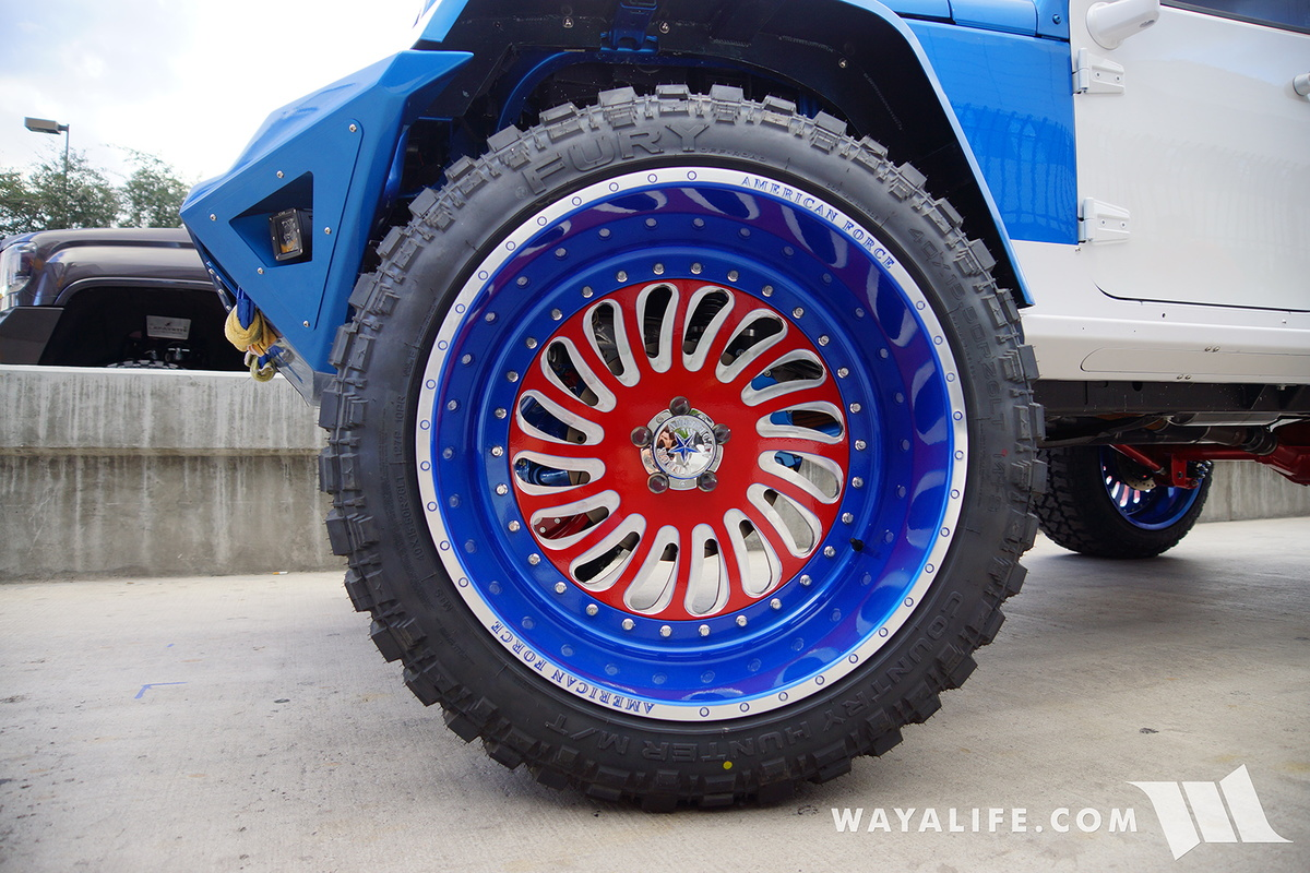 2016 SEMA : Revolution Jeep JK Wrangler Unlimited