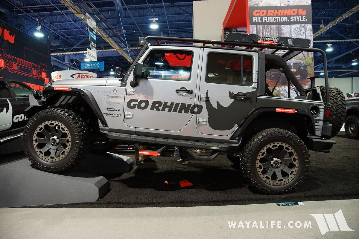 2016 SEMA : Go Rhino Jeep JK Wrangler