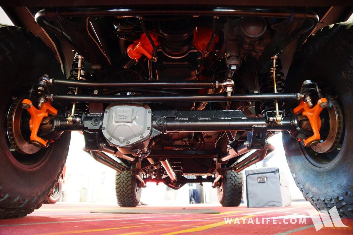 2017 SEMA - ROAMR Jeep Gladiator Tomahawk