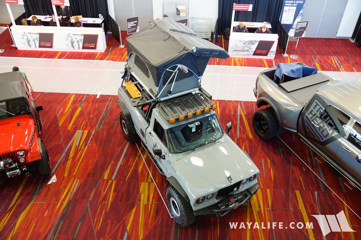 2017 SEMA ROAMR Jeep Gladiator Tomahawk