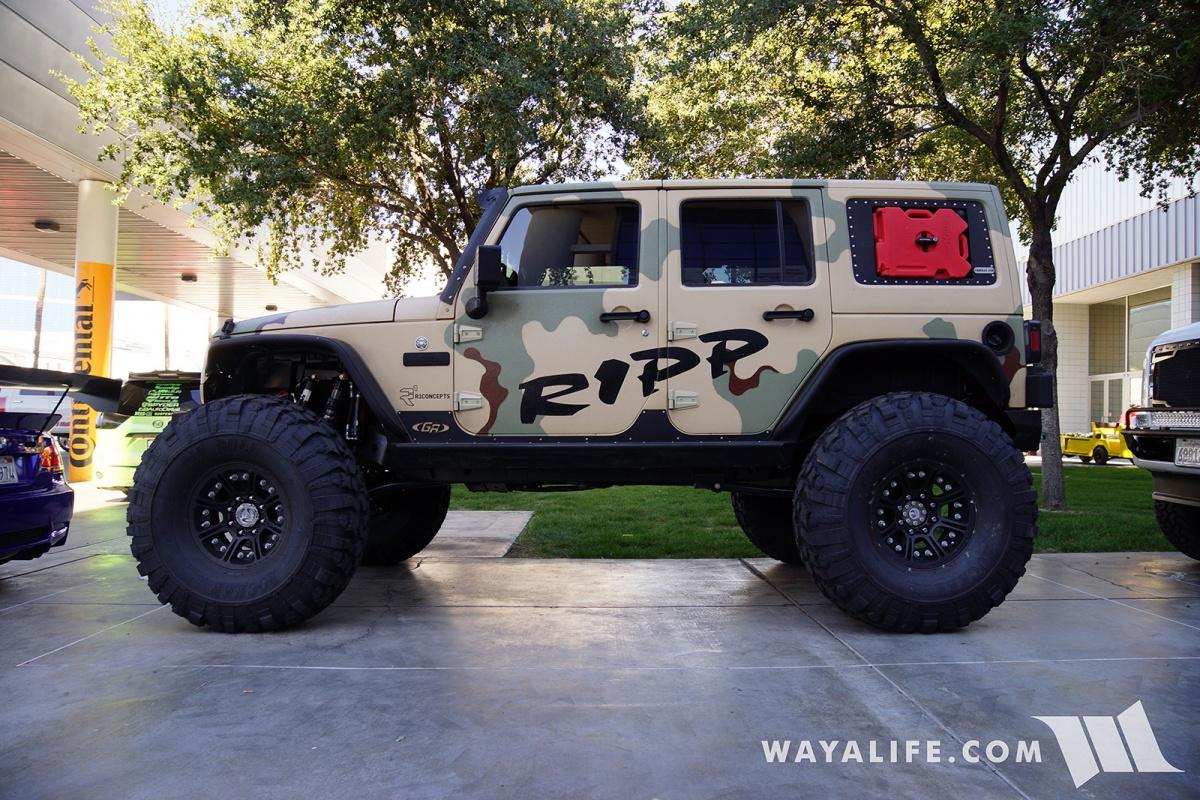 2017 SEMA R1 Concepts Tan RIPP Jeep JK Wrangler Unlimited