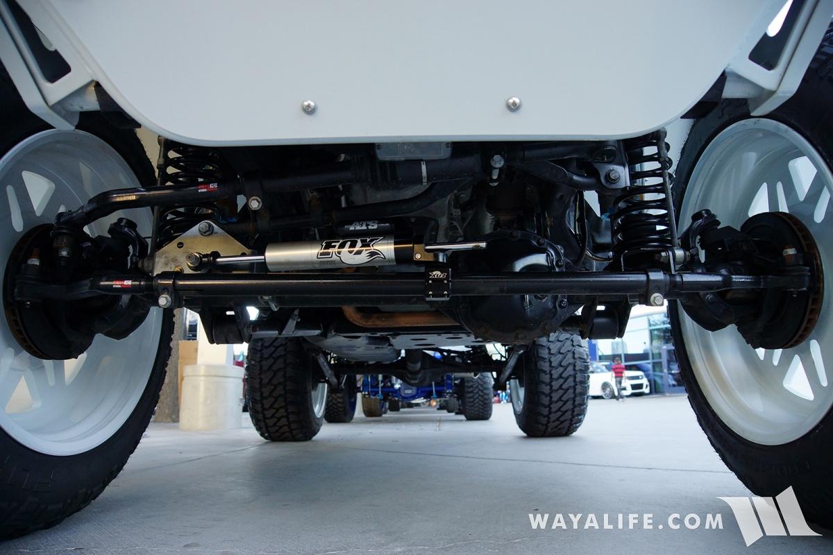 2017 SEMA Champion 4x4 White Jeep JK Wrangler Unlimited