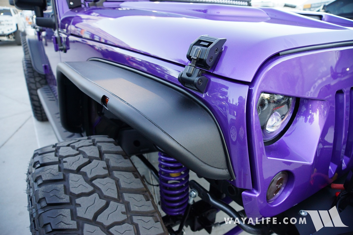 2017 Sema Meyer Snyper Purple Jeep Jk Wrangler Unlimited