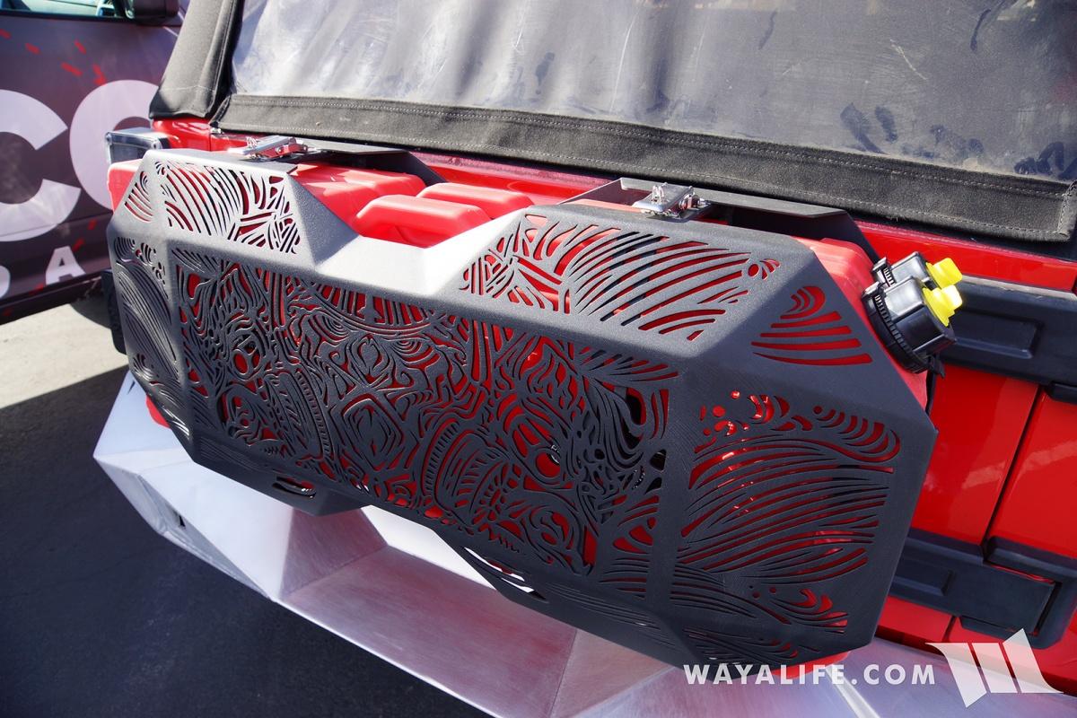 2017 Jeep Wrangler Unlimited Accessories >> 2017 SEMA Topfire Red Jeep JK Wrangler Unlimited