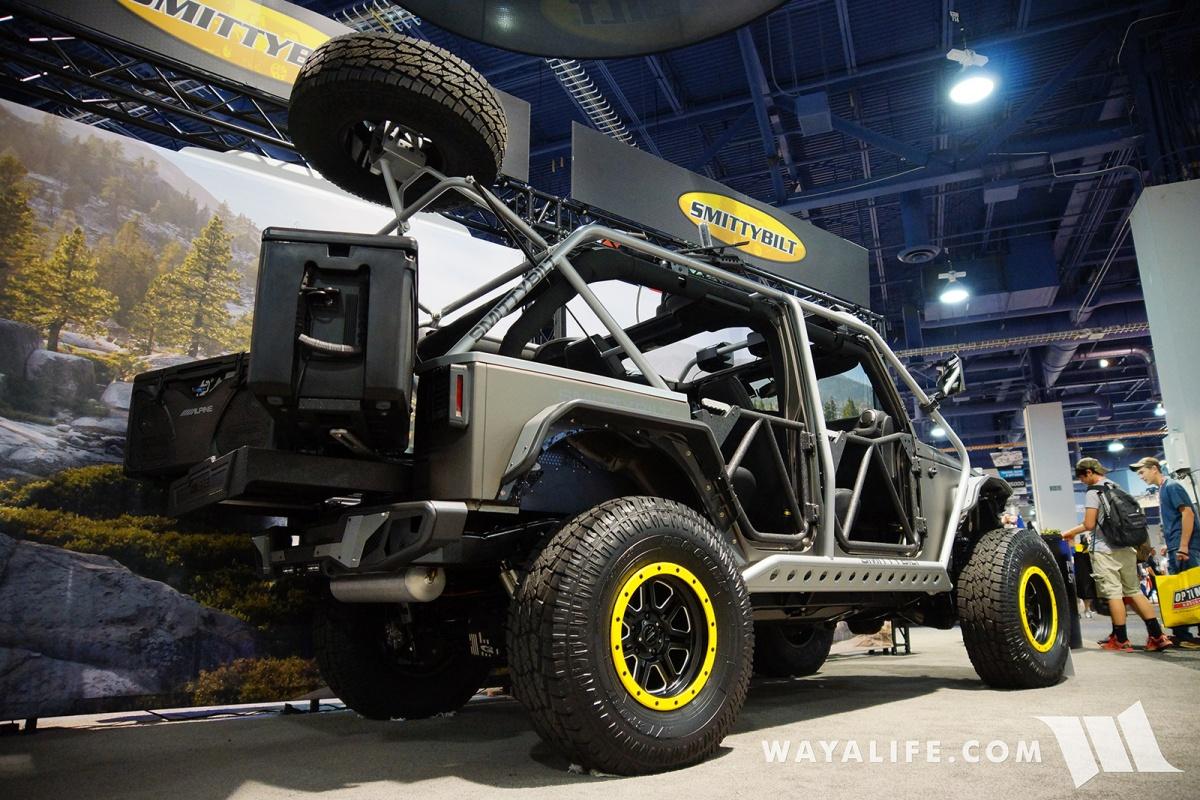 2017 SEMA Smittybilt Apollo Jeep JK Wrangler Unlimited