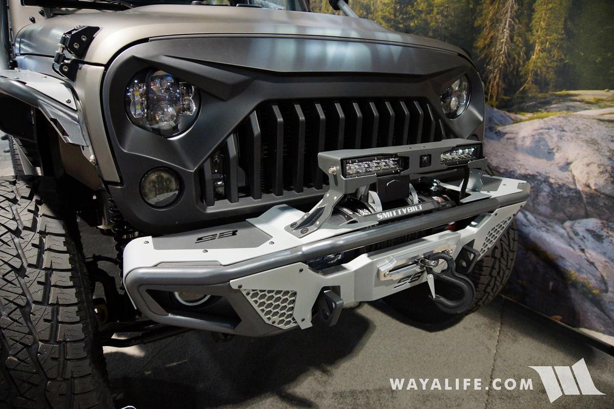 2017 Jeep Wrangler Unlimited Accessories >> 2017 SEMA Smittybilt Apollo Jeep JK Wrangler Unlimited