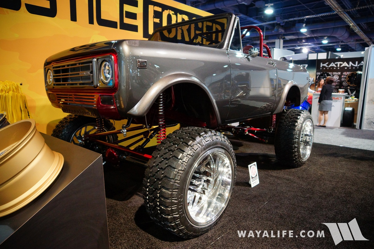 2017 Sema Hostile Forged Scout