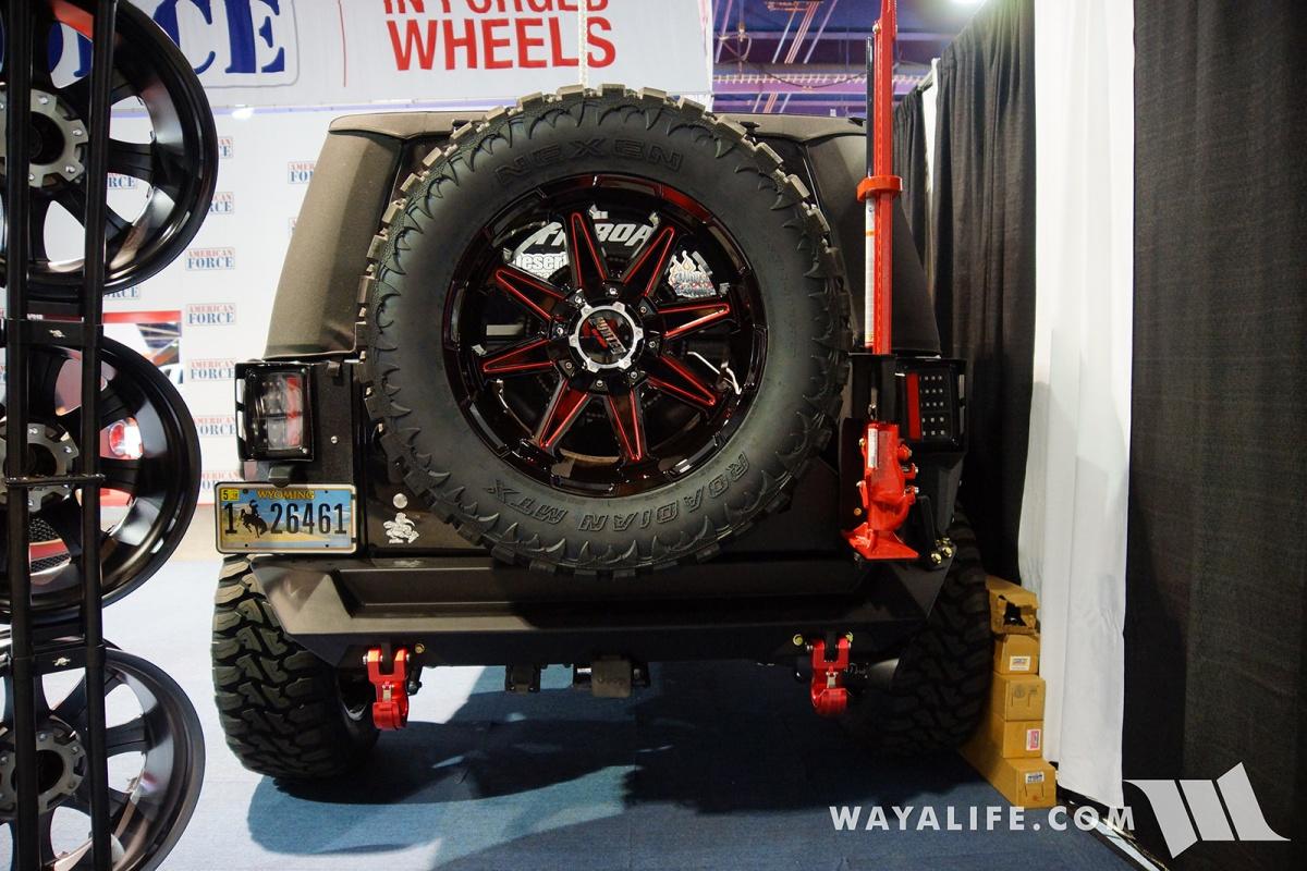 2017 Jeep Wrangler Unlimited Accessories >> 2017 SEMA STR Racing Jeep JK Wrangler 2-Door