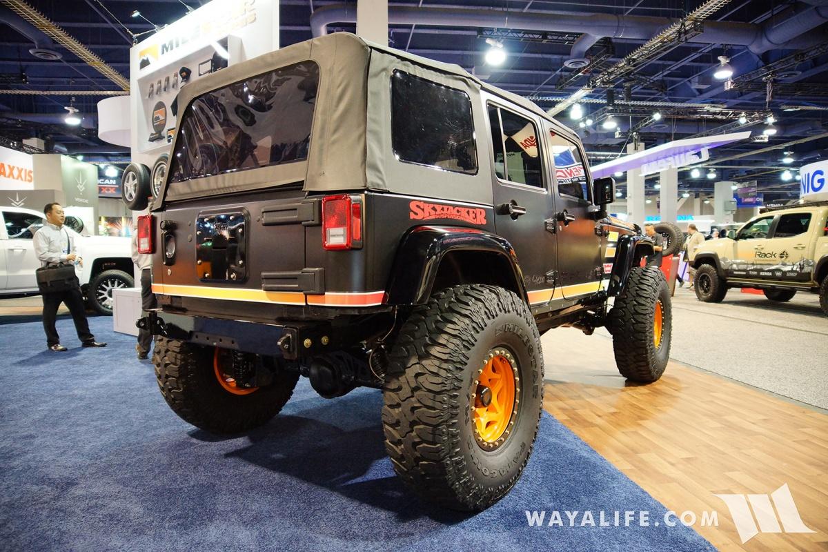 2017 SEMA Milestar Jeep JK Wrangler Gladiator
