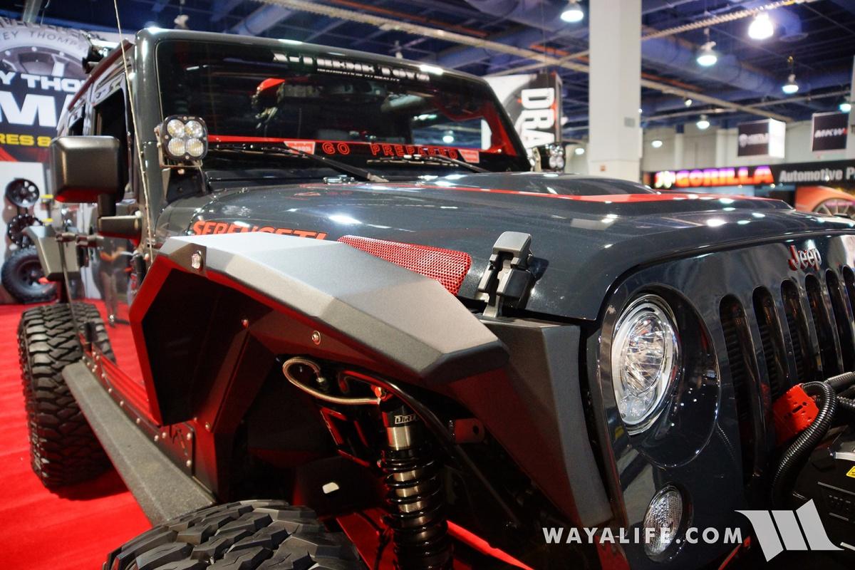 2015 Jeep Wrangler Unlimited Rubicon >> 2017 SEMA Mickey Thompson Serengeti Jeep JK Wrangler Unlimited