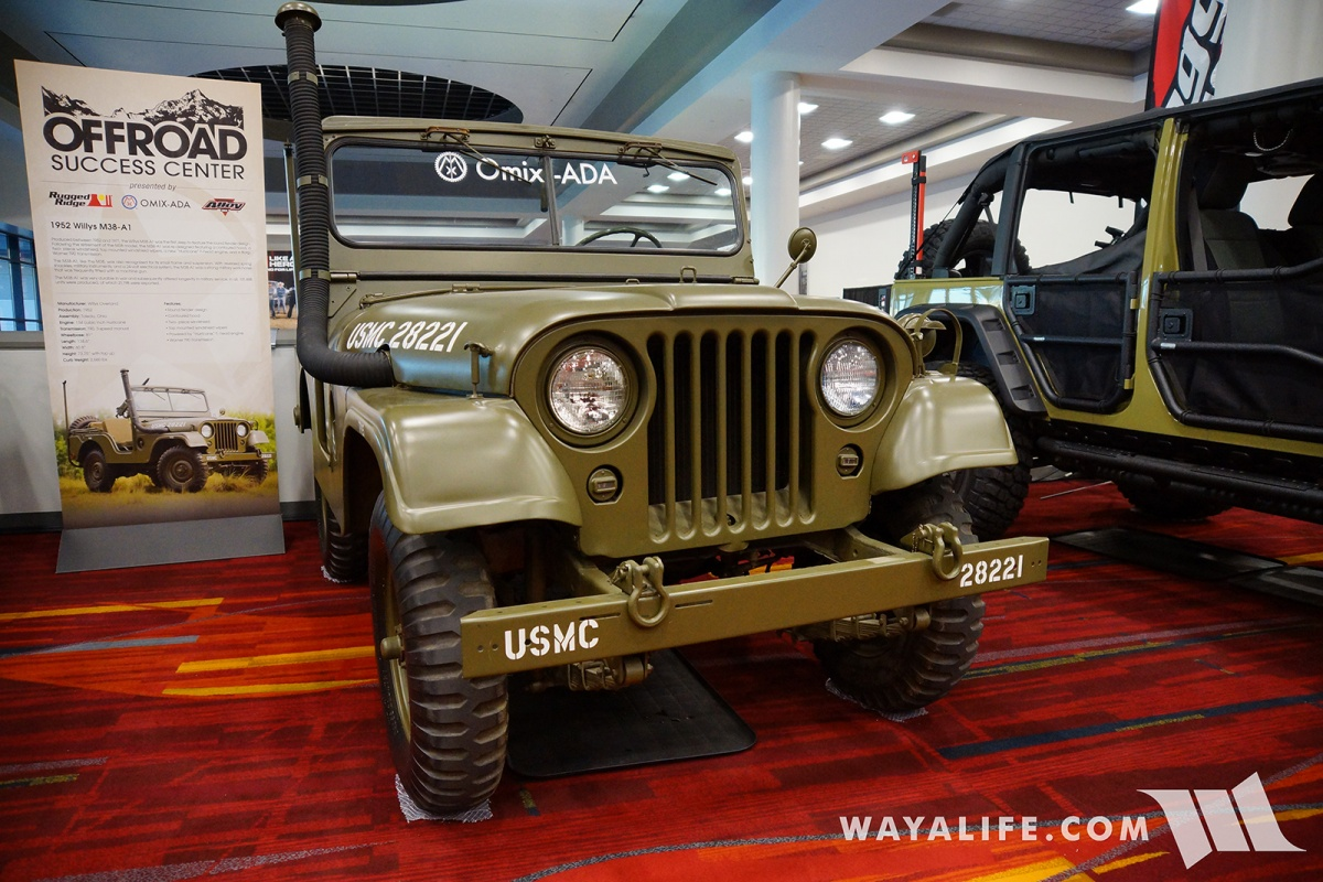 2017 Sema Omix Ada 1952 Willys M38 A1 1941 To Jeep The Below Is A Willy That Brought Out Show