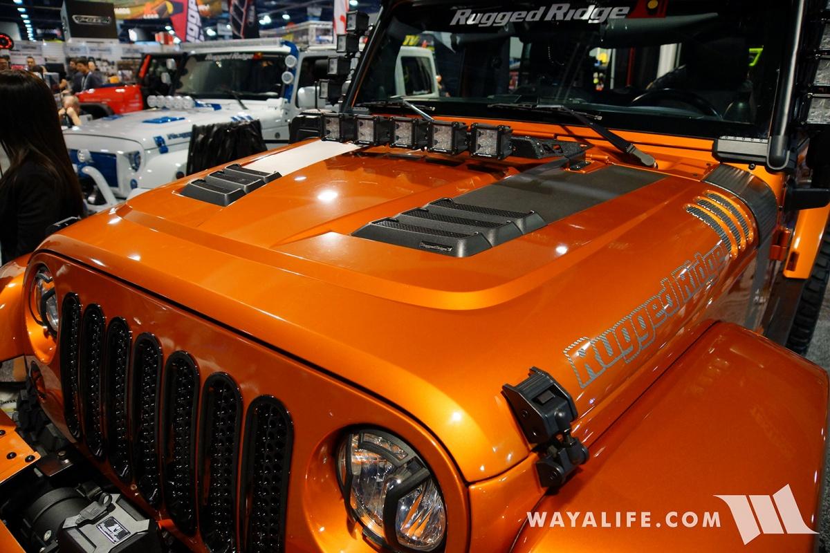 Carson City Jeep >> 2017 SEMA Rugged Ridge Orange Jeep JK Wrangler Unlimited