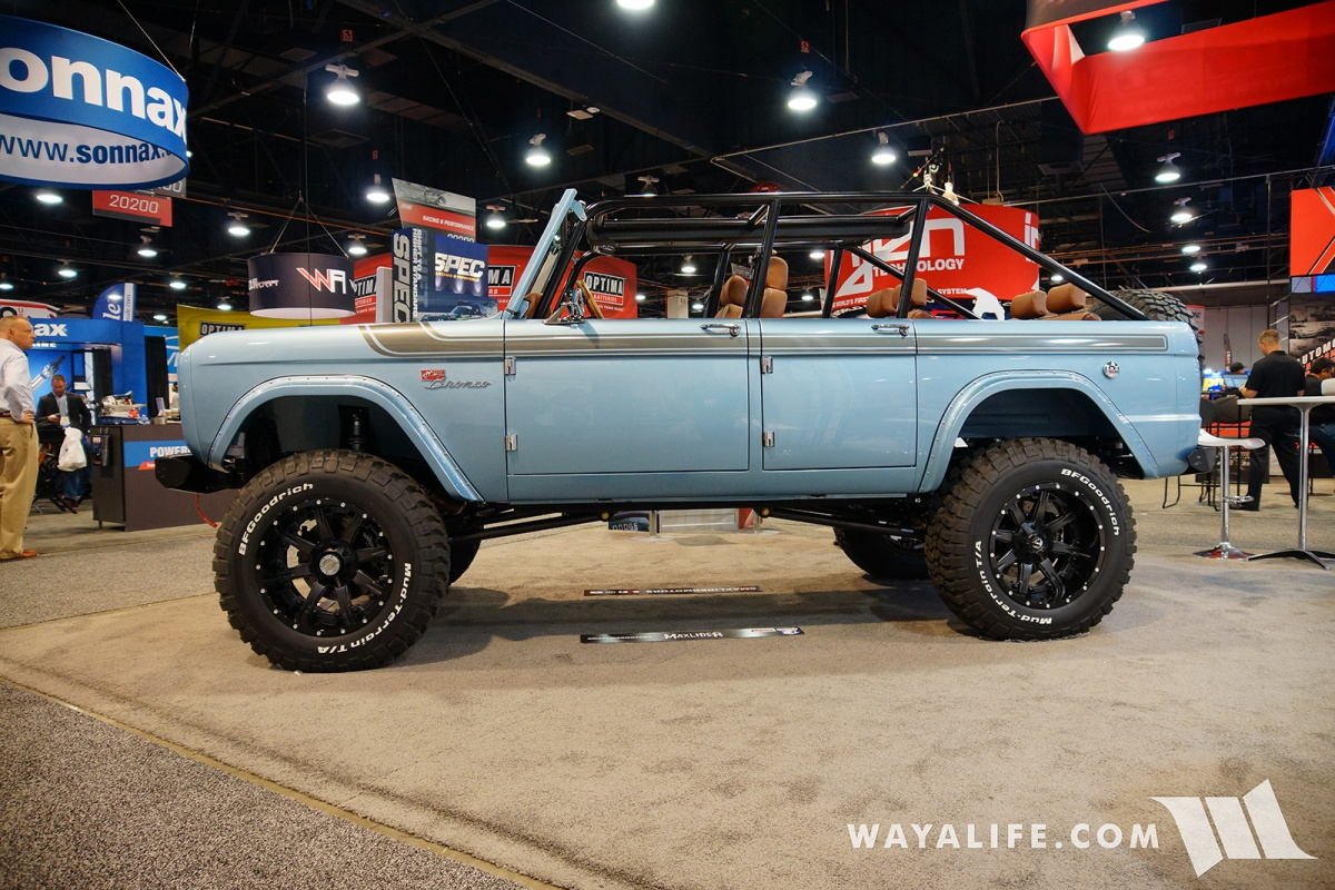 2017 Sema Yukon Gear Early Bronco 4 Door