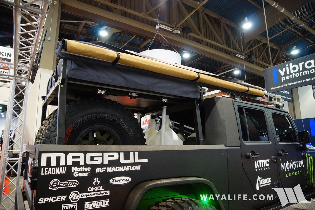 2017 Sema Baja Designs Jeep Jk Wrangler Crew Cab Pickup Truck