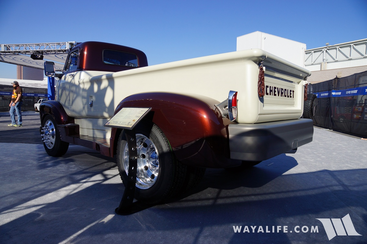 2017 Sema Legacy Innovations 1954 Chevrolet 5700 Coe