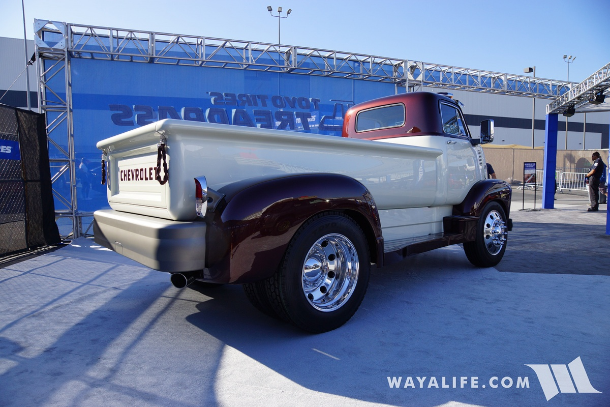 2017 Sema Legacy Innovations 1954 Chevrolet 5700 Coe Dodge Pickup Truck Last Year Brought Out A Stunning Powerwagon To And For They This Gorgeous