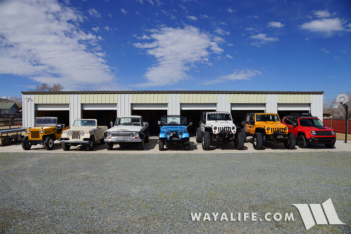 WAYALIFE Jeep Family Portrait