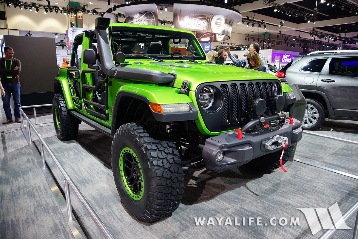 Mojito JL Wrangler Rubicon Unlimited - MOPAR built