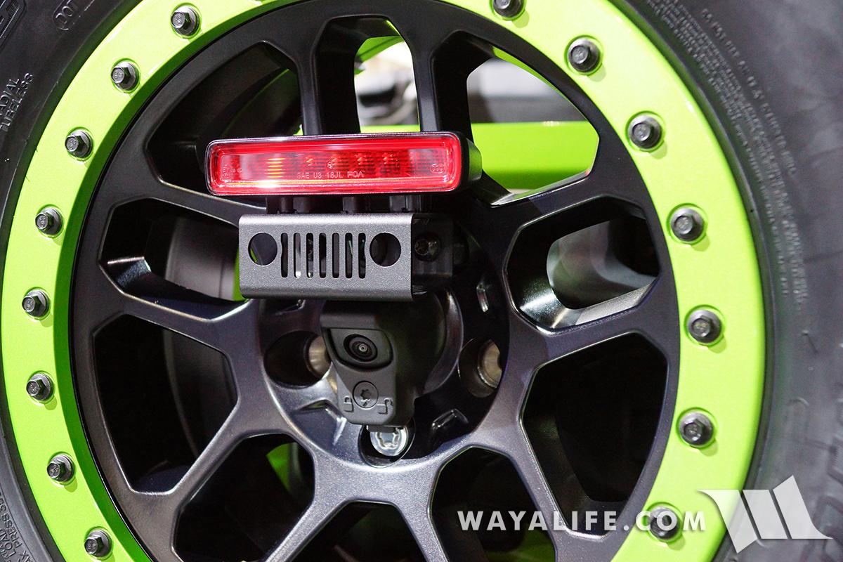 2017 La Auto Show Mojito Green Jeep Jl Wrangler Rubicon