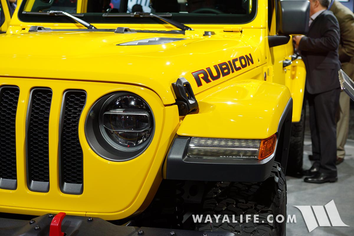 JL Wrangler Rubicon highline fenders